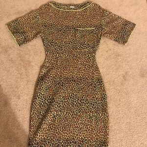 Missoni green leopard print dress 🤯